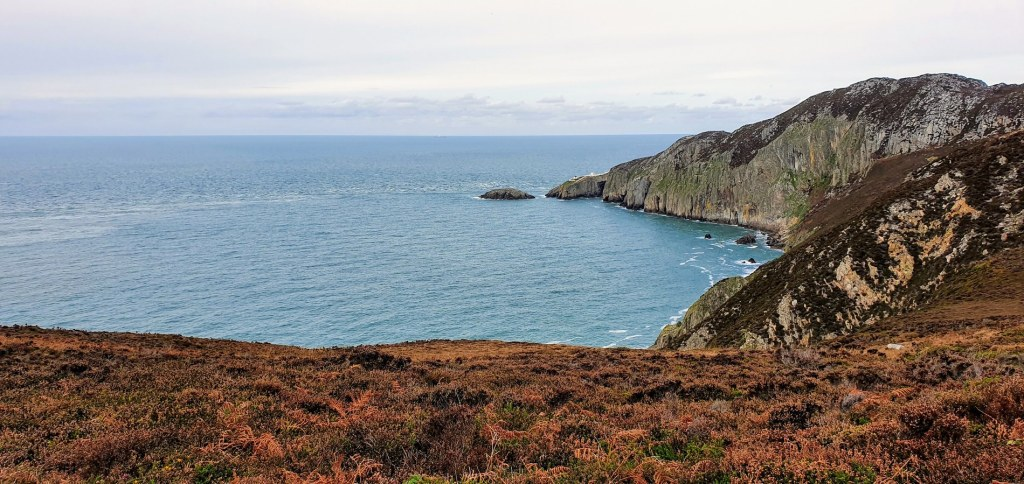 View across to North Stack